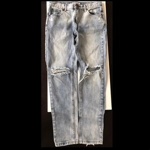 One Teaspoon Awesome Baggies Light distressed S24